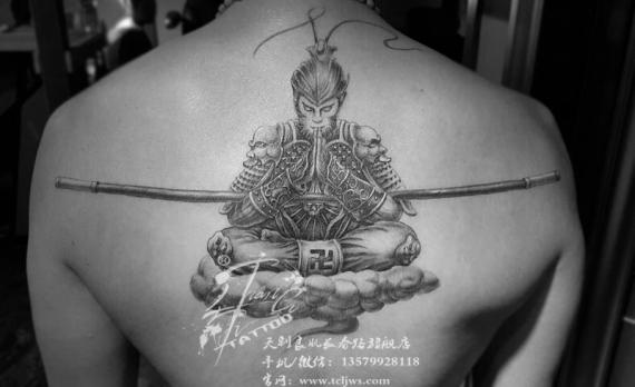 新疆乌鲁木齐纹身刺青图片-斗战胜佛