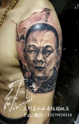 新疆乌鲁木齐纹身刺青【人物肖像】