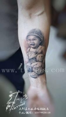 新疆纹身刺青【人物肖像】